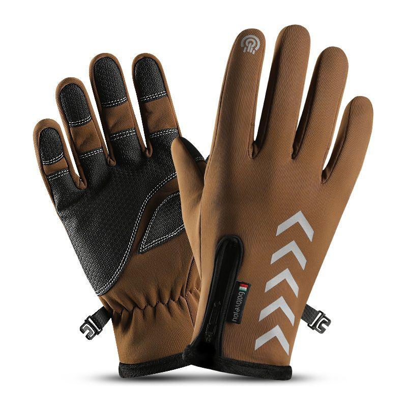 2019 Men's Running Gloves Women Touchscreen Gloves Anti-Slip Winter Warm Mittens 2 Colors Windproof Lightweight Mitten for Ski Cycling M695F