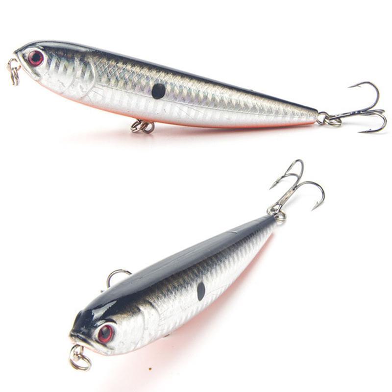 1pcs 12cm 22g Fishing Lure 4# Top Water Lures Baits Wobbler Artificial Hard Bait Fishing Tackle