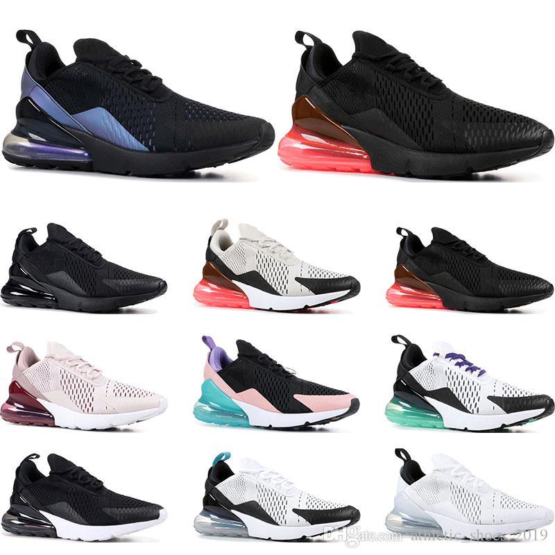 nike air max 270 Hotsale Кроссовки для мужчин женские тройные черные белые имеют день South Beach Throwback Future спортивные кроссовки кроссовки размер 36-45