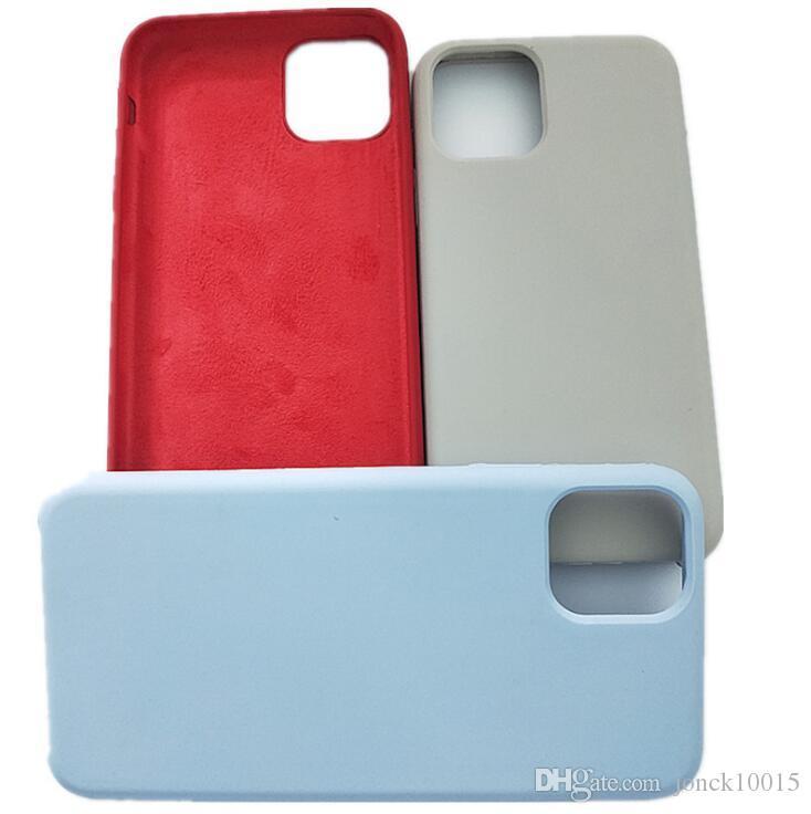 New mobile phone case for iPhone11 Pro MAX Apple 11 anti-liquid silicone Apple phone case
