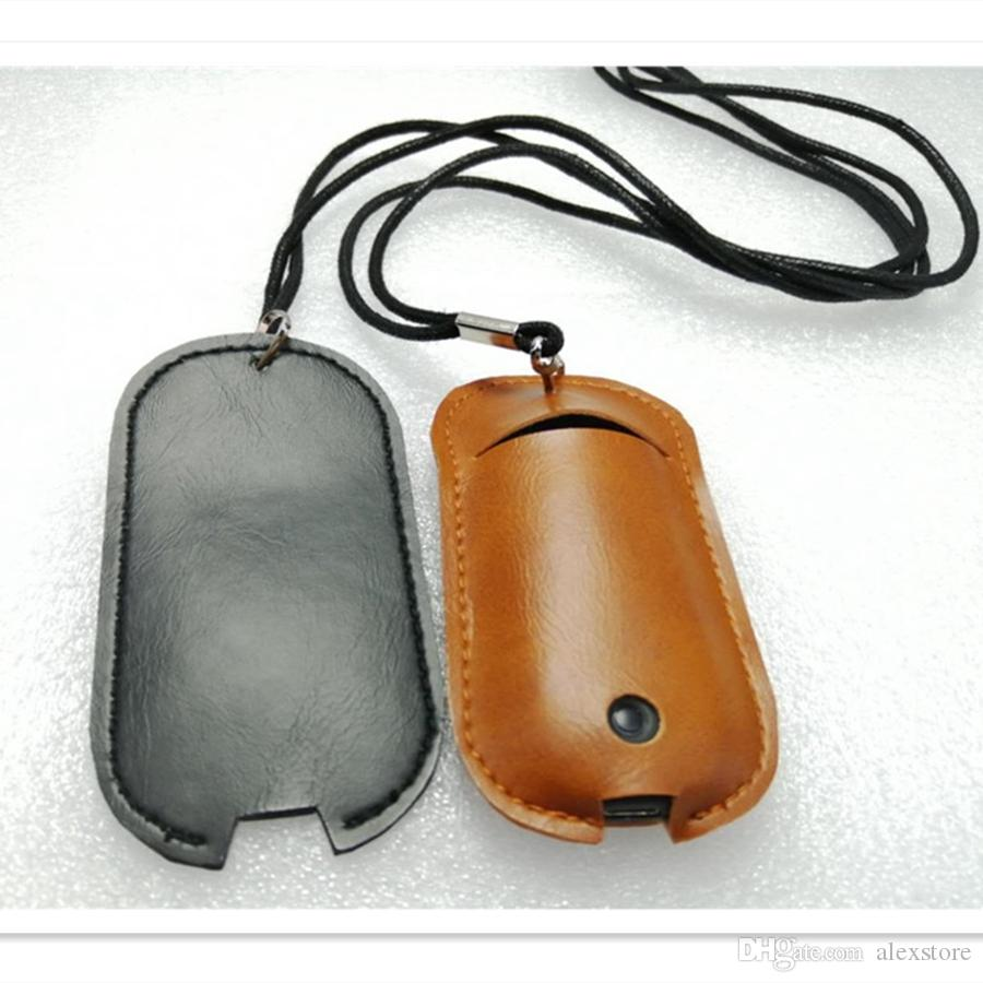 Zero PU Leather Lanyard Neck Chain Pouch Case Carrying Bag Shell Cover Sleeve Necklace Rope for Zero Vape Pen Pod Kit