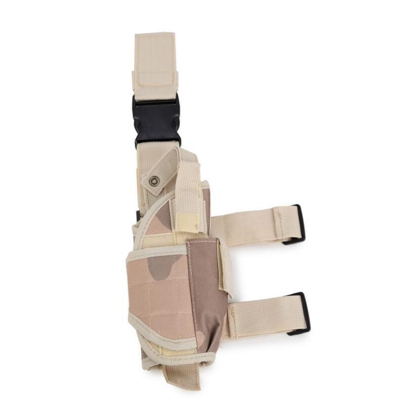 Multi-funzione Outdoor Caccia Tactical Putttee Coscia Gamba per custodia per fondina Borsa avvolgente Accessori da caccia Spedizione gratuita