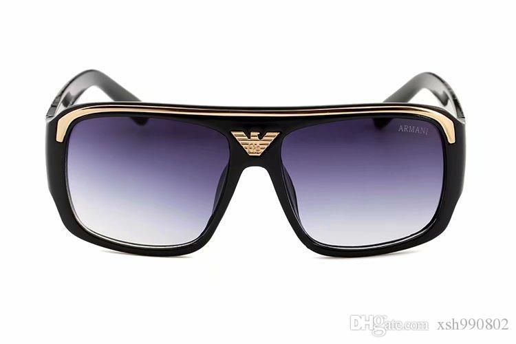 Luxury designer Sunglasses For Men Fashion Designer Sun Glass Oval Frame Coating Mirror UV400 Lens Carbon Fiber Legs Summer Style Eyewear