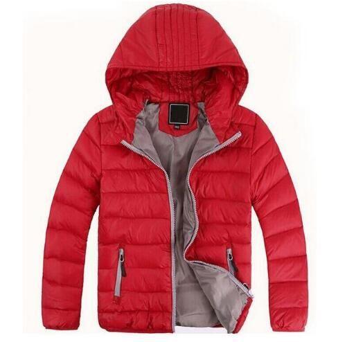 SPEDIZIONE GRATUITA Capispalla per bambini Ragazzo e ragazza Inverno Cappotto caldo con cappuccio Piumino imbottito in cotone Giacche per bambini 3-12 anni