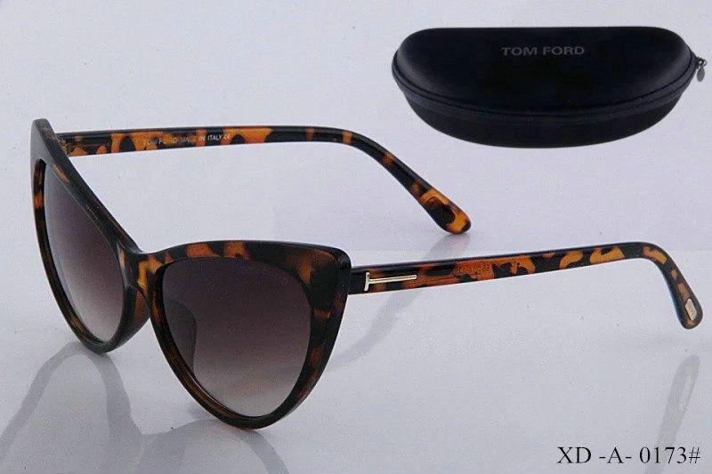 Nouvelle qualité supérieure nouvelle mode lunettes de soleil pour tom homme femme lunettes designer marque lunettes de soleil ford lentilles avec boîte 56