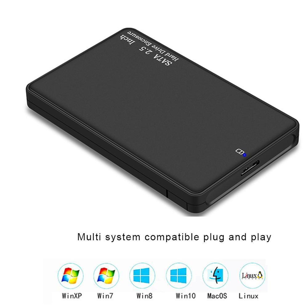 USB 3.0 어댑터 하드 드라이브 인클로저를 들어 SSD 디스크 케이스 HDD 상자에 대한 외부 스토리지 인클로저 VKTECH HDD 케이스 2.5 ''SATA