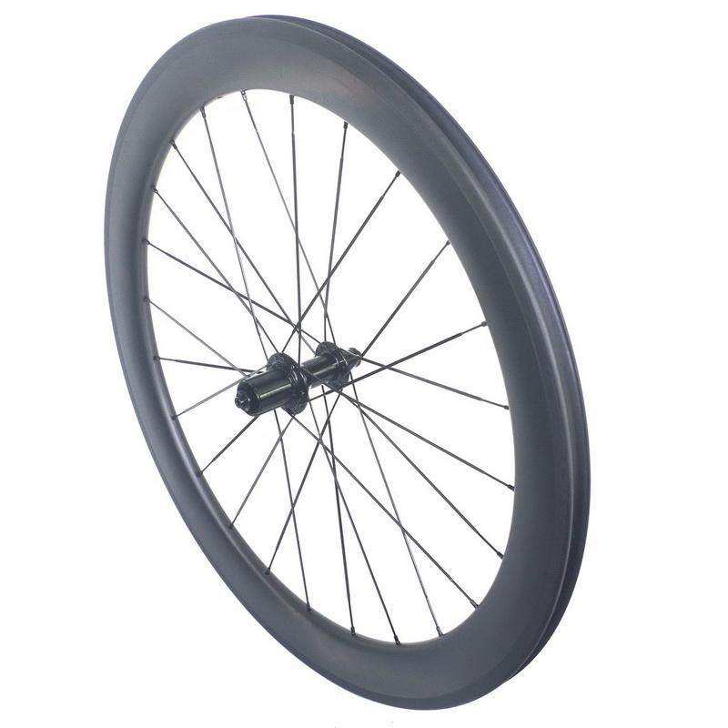 700C 탄소 도로 자전거 바퀴 38mm의 50mm에서 60mm 클린 처 탄소 도로 바퀴