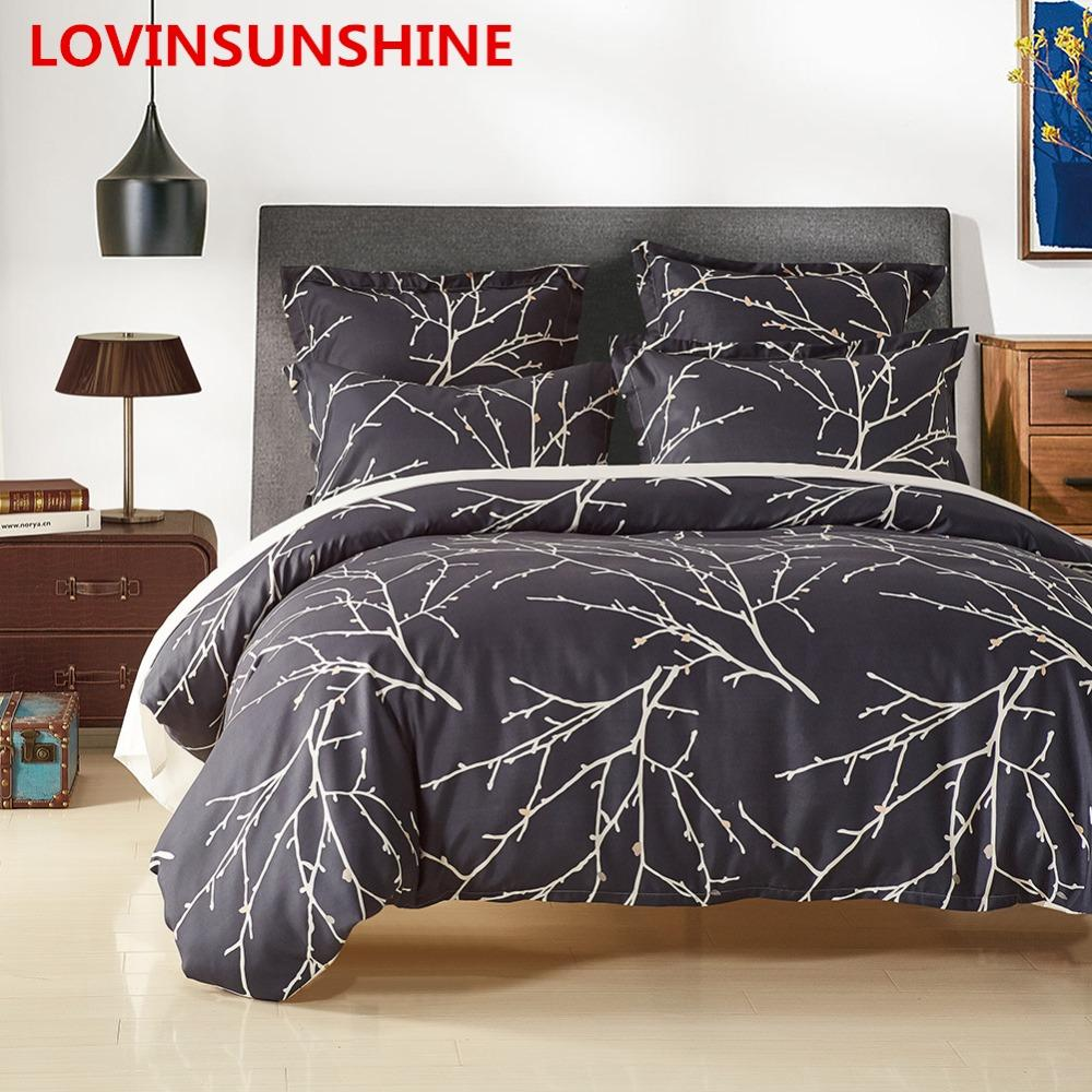 2 / 3PCS Set biancheria da letto Jacquard Set copripiumino Federa cotone Set di lenzuola in poliestere per camera da letto Twin Queen King Size No Sheet