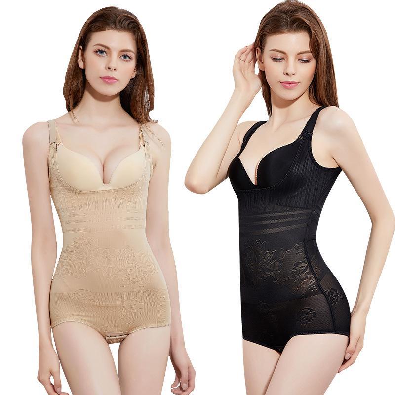 Femme lingeries kadın artı boyutu Yüksek kaliteli tek parça korse karın destek vücut iç çamaşırı doğum zayıflama iç çamaşırı