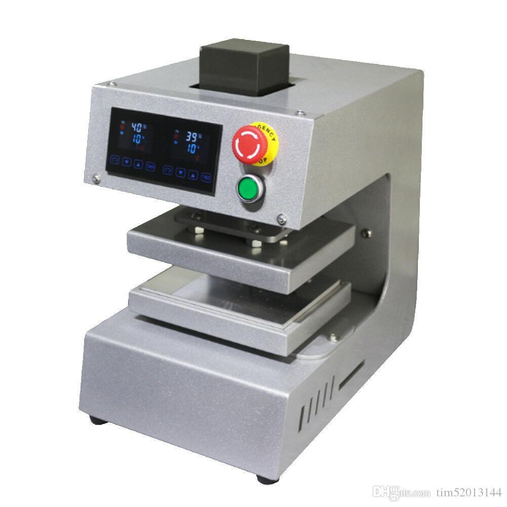2017 новые типа канифоли пресс машина PURE ELECTRIC Авто двойной тепловые пластины канифоли тепла пресс-машины с ЖК-панелью