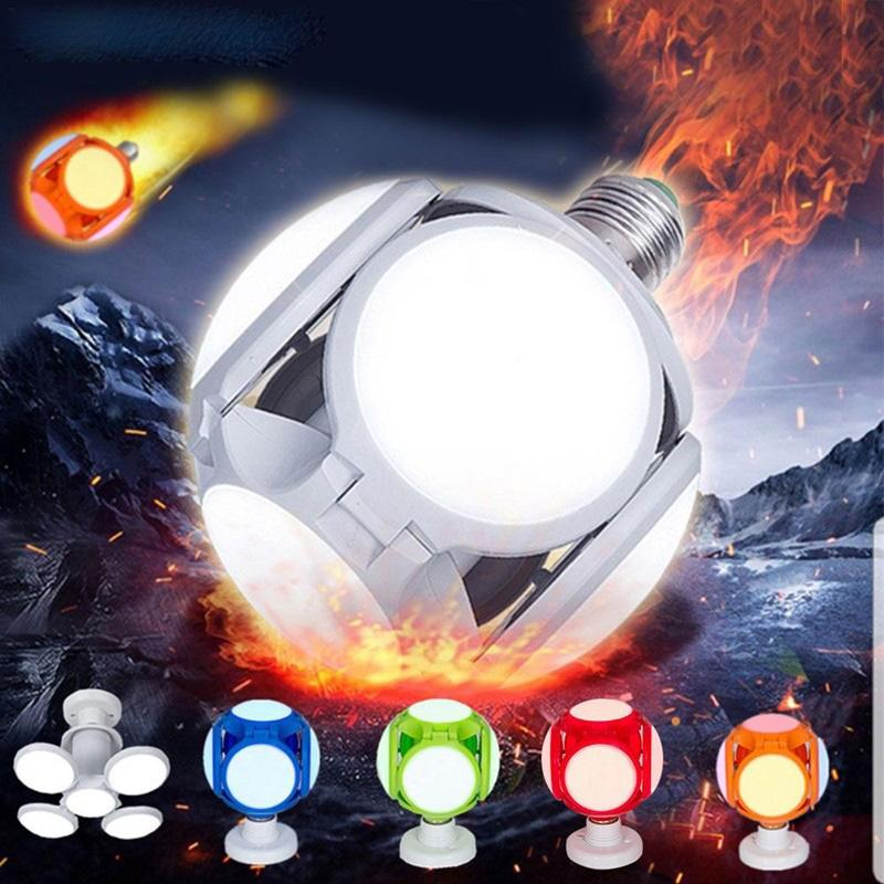 120LED супер яркий светодиодный складной светильник крытый свет 40 Вт E27 LED Light футбол UFO лампа AC 85-265 в светодиодные лампы
