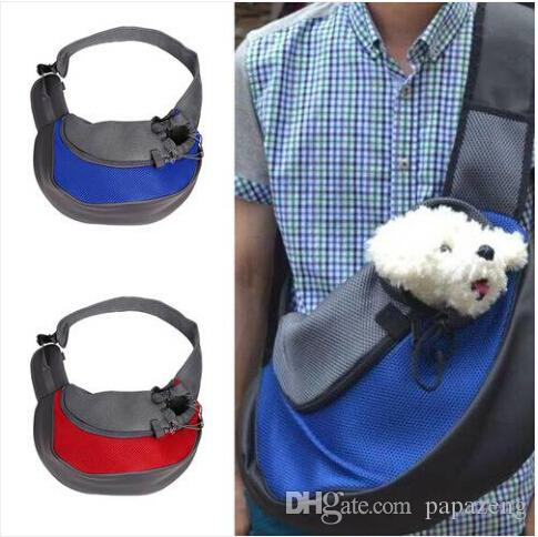 Sales!!! Free shipping Wholesales !!!Pet Dog Cat Puppy Carrier Comfort Travel Tote Shoulder Bag Sling Backpack Dog carrying supplies