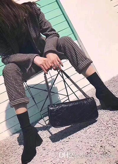 Bolsa bolsas de diseño individual 262155 bola 3A grano de lujo inclinado arma de hombro de hardware 2018 mujeres famosas de la marca de moda de los bolsos de la cintura crossbody