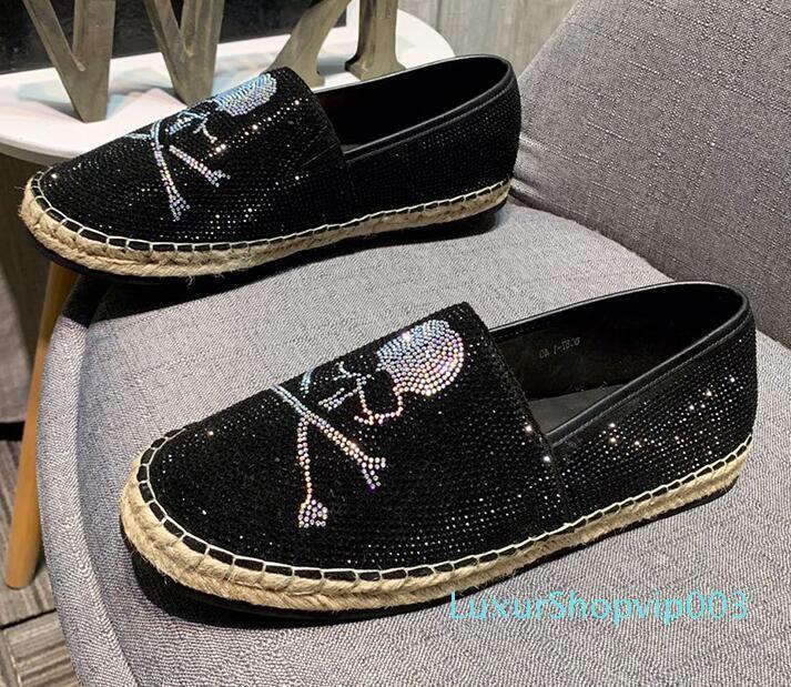 lüks tasarımcı mens makosenler Elbise Ayakkabı Siyah sarı matkap Casual makosenler Sivri Oxford Ayakkabılar üzerine Gentleman Kayma espadrilles