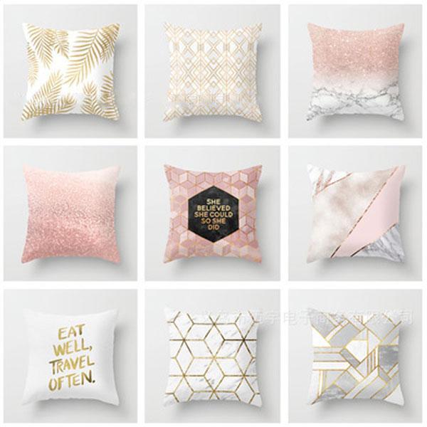 Fashion New Printed Memory Foam Brief Modern Throw Pillow Case Geometric  Striped Flower Home Classy Decor Cute Pillow Travel Blue Pillows Pink  Pillows ...