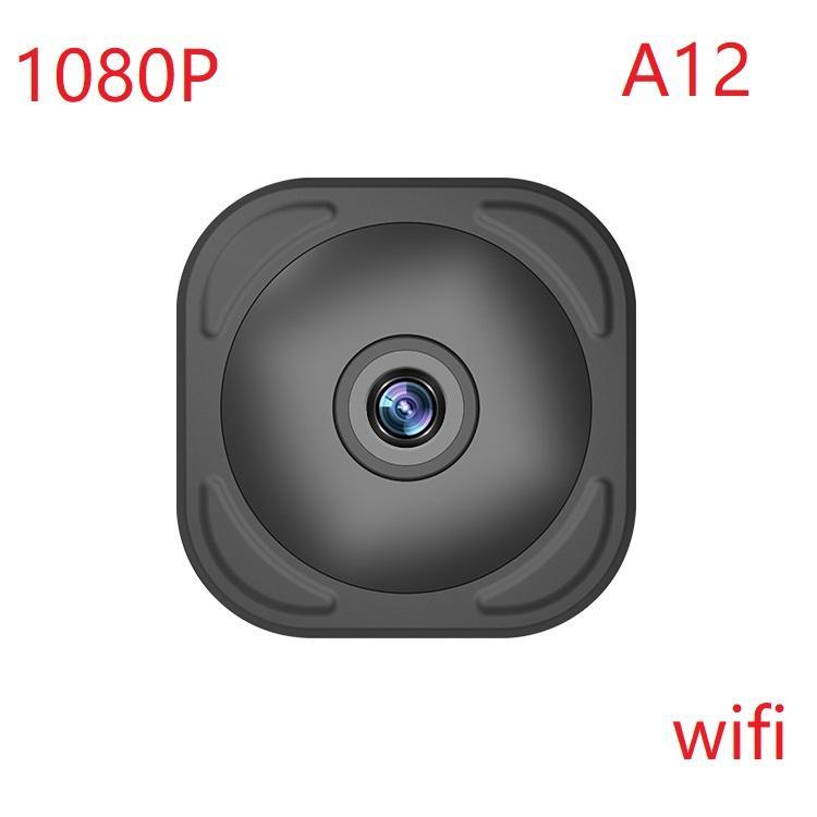 A12 HD Mini Camera Home Security Camera WiFi Night Vision 1080P Wireless Surveillance Camera Remote Monitor Phone App DVR Camcorder