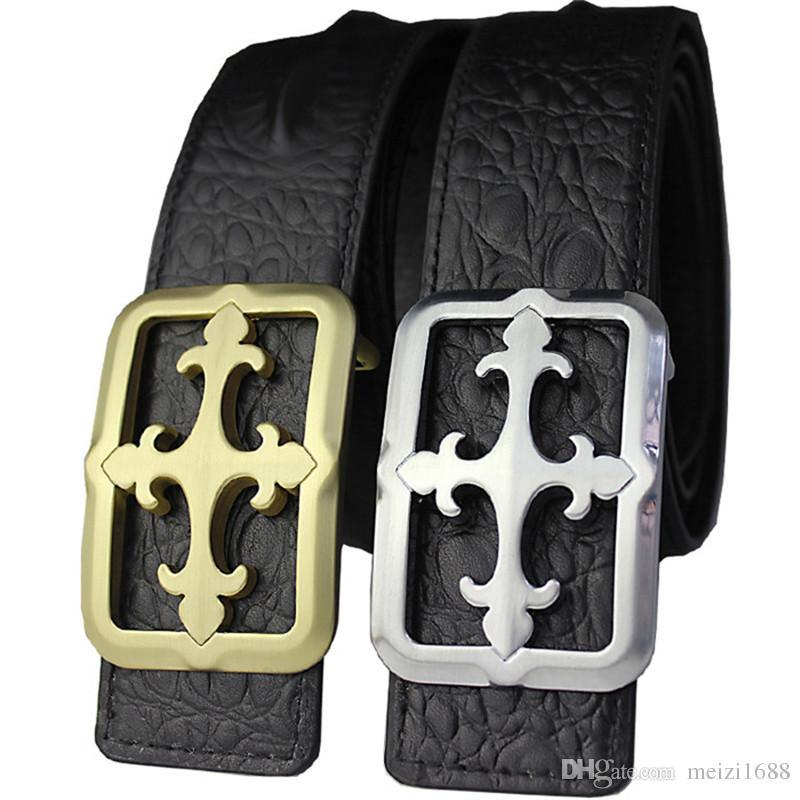 Ceintures de designer en gros ceintures de luxe pour les hommes grande boucle ceinture top mode hommes ceintures en cuir livraison gratuite