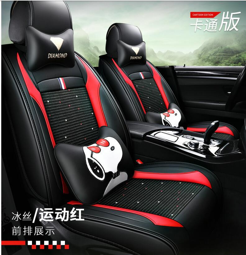 Universal Fit Car Accessories Seat Covers For Trucks Full Set