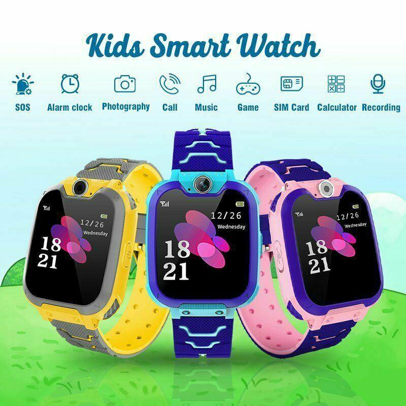 어린이 스마트 시계 지원 심 / TF 카드 음악 게임은 양방향 호출 카메라 다기능 어린이 스마트 폰 시계를 재생