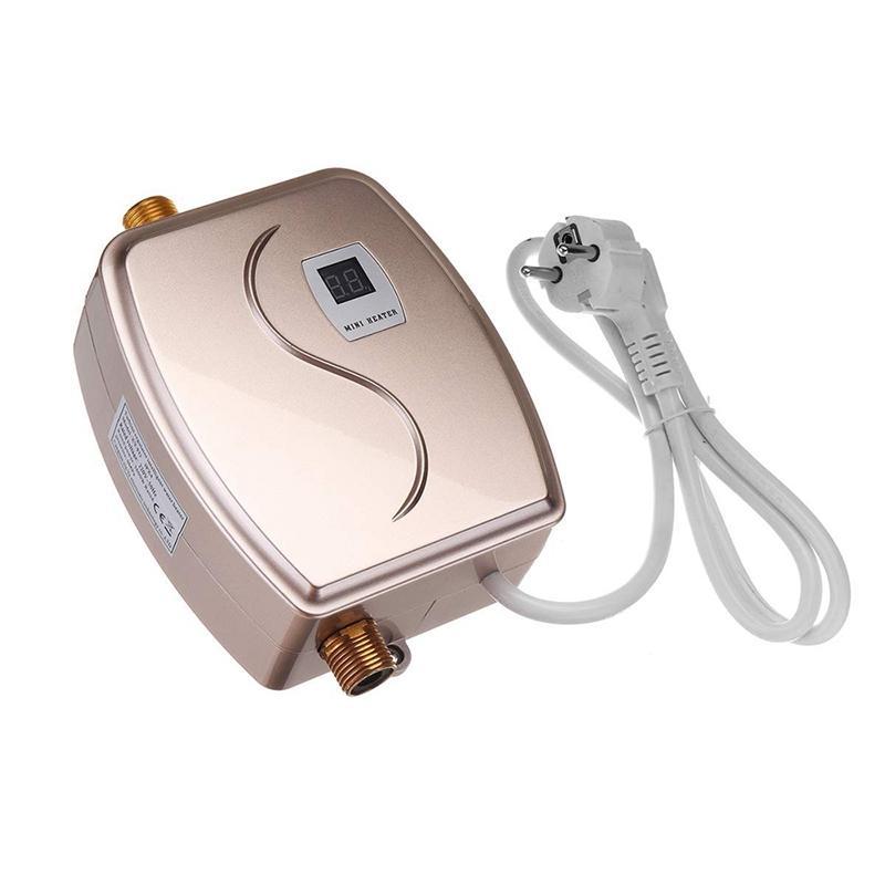 XY-FGGD, 3800W Banheiro Cozinha Instant Elétrica Aquecedor de Água Quente Torneira Torneira LCD Torneira Torneira Tankles