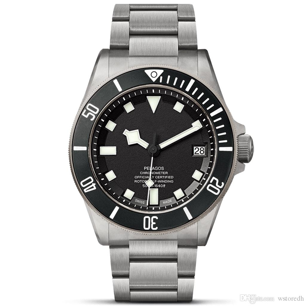 고급 기계식 시계 자동식 기계식 시계 43mm 디자이너 Luxusuhr 캐주얼 장인 손목 시계 스테인레스 스틸 스트랩