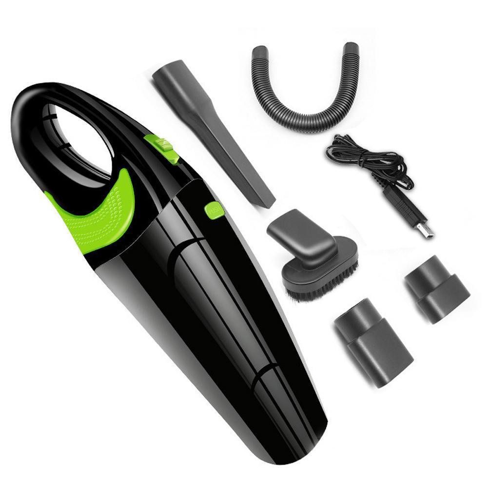 R-6054 4000kpa Беспроводной автомобильный пылесос 100-240В Алюминиевый зарядное устройство USB кабель для зарядки мокрой и сухой двойного использования Пылесосы