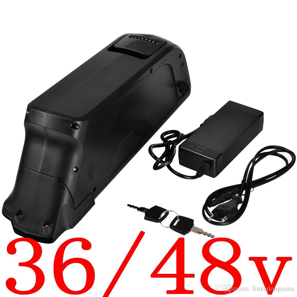 Бесплатная доставка 36V 48V электрический велосипедный корпус 36 48 батарея ebike с держателем клеток
