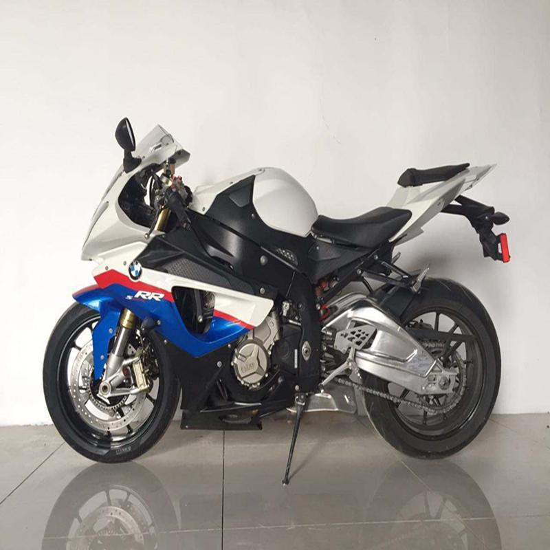 Color : Tank cap Fibra di carbonio moto tappo del serbatoio del carburante Sticker Decal for BMW S1000RR S1000R S1000 RR HP4
