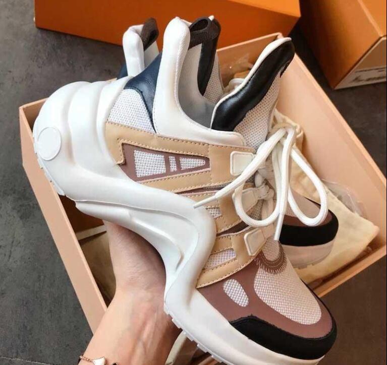 Luxus Designer Damenschuhe preiswerte Qualitäts-Damen Mode Turnschuhe Höhen-Zunahme-Schuh-beiläufige Sport-Schuhe für Damen