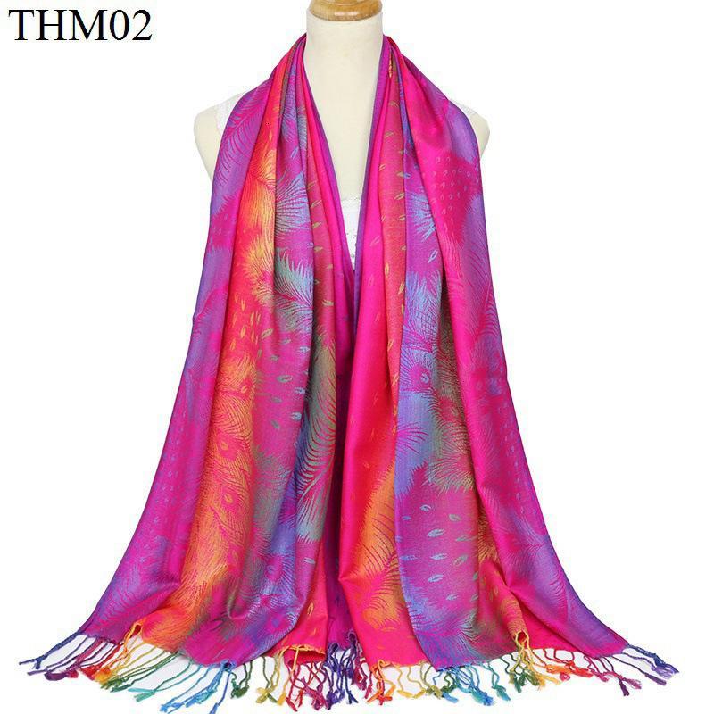 Garantía de otoño caliente tejido jacquard de algodón Mujer Bufanda Nación viento Turismo Mantón regalo borlas de algodón de la manera caliente ScarfNew