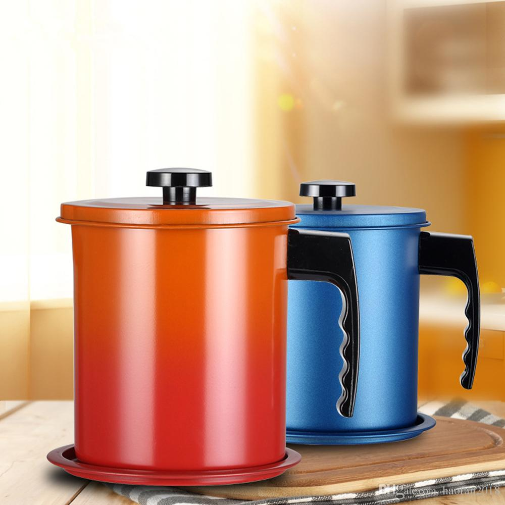Depósito de grasa para almacenamiento de aceite, depósito de grasa con filtro de malla fina