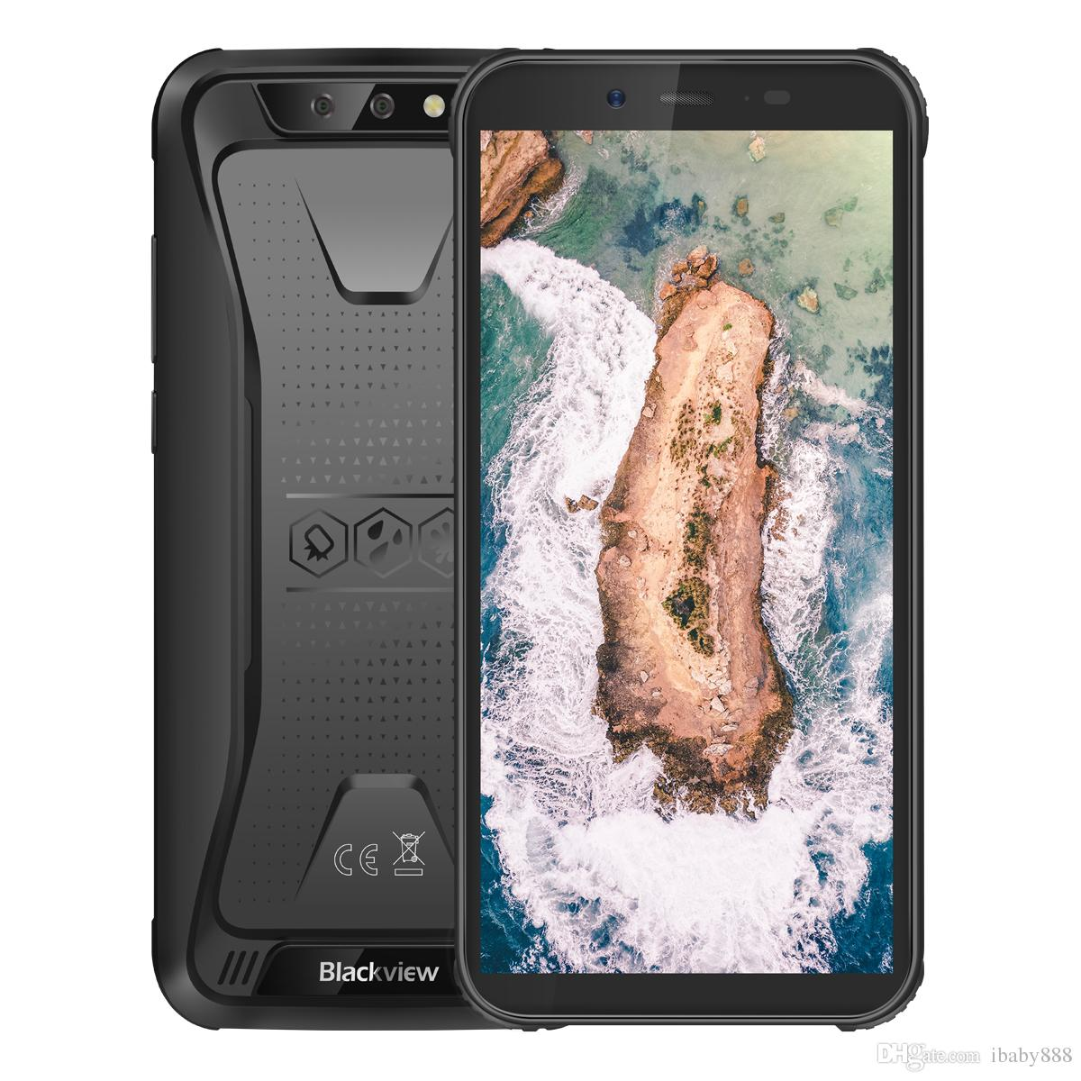 "Cheap 3G WCDMA Blackview BV5500 IP68 Waterproof Dustproof Shockproof Quad Core 2GB 16GB 5.5"" Full Screen 4400mAh 3-Anti Rugged Smartphone"