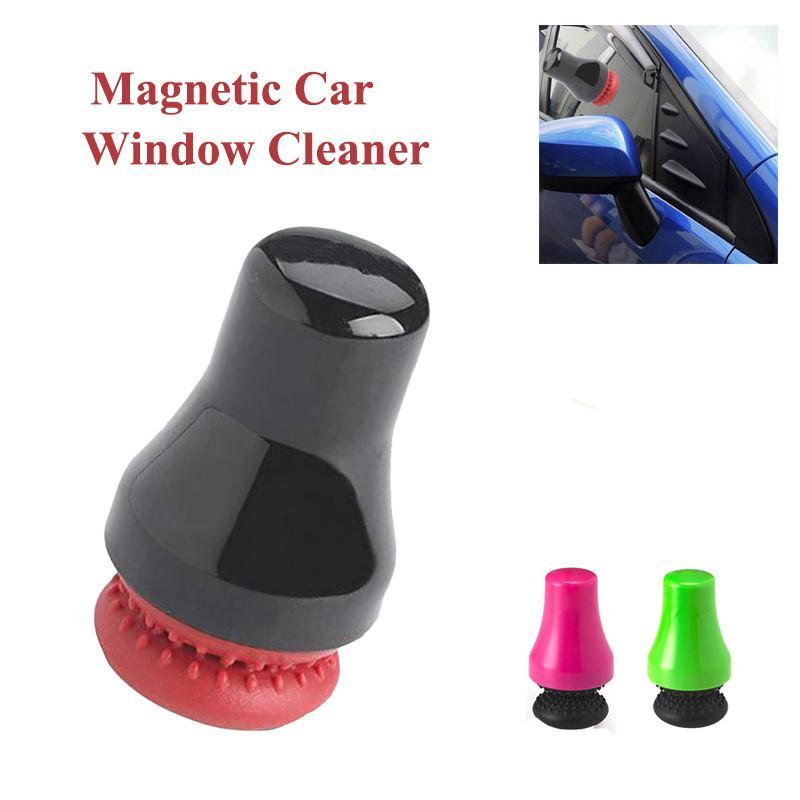 Pulitore per bottiglie di vetro a scrubber per vetri magnetici, finestra per l'acquario, rimozione delle alghe, spazzola per la pulizia su entrambi i lati, pulitore a portata di mano