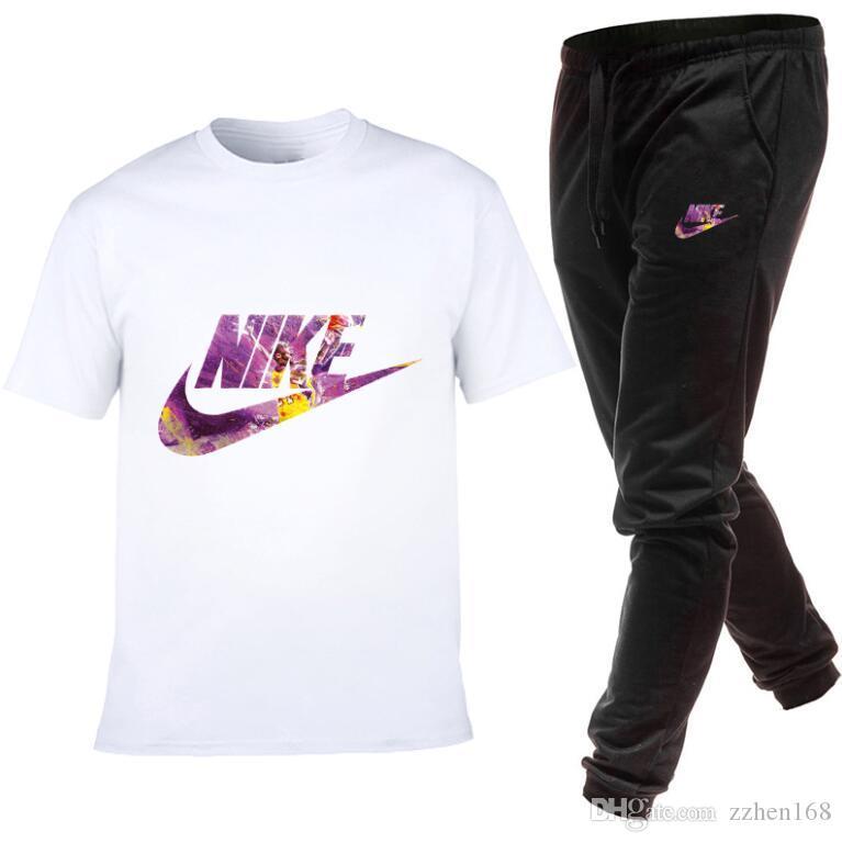 stampa di lusso maglietta Set Men Outfits uomini tute maschili Top Femminili maglietta + Shorts casuale mans tuta a due pezzi di abbigliamento sportivo