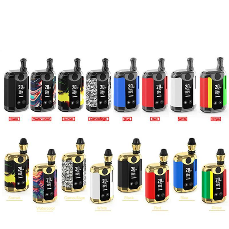 Original Kangvape TH420 V Kit Iniciante TC 20 W Box Mod 800 mah Bateria de Pré-aqueça TH420-V Com Adaptador Ímã Para 510 Atomizador Cartucho De Rosca