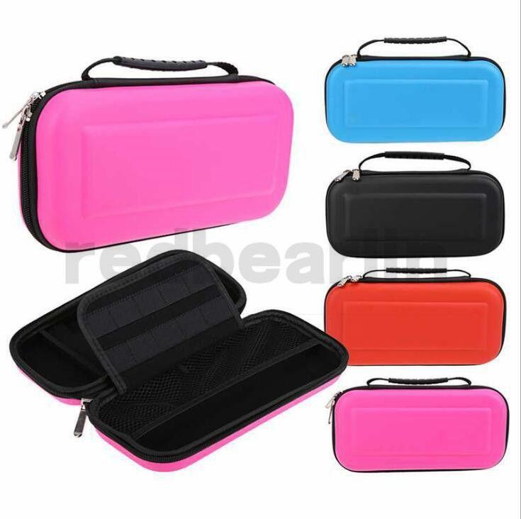 게임 가방 운반 케이스 하드 EVA 쉘 고품질 휴대용 보호 파우치 가방 스위치