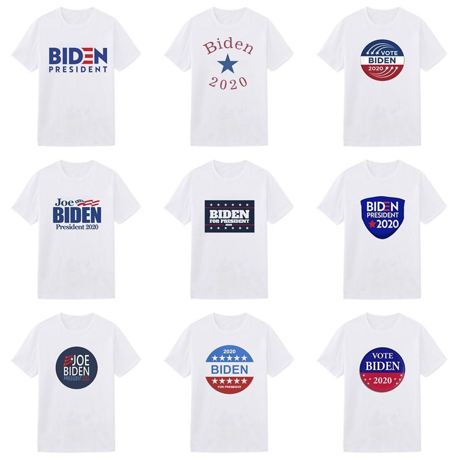Casual Mens Designer Biden camisetas Mens Moda roupas de verão Streetwear Camiseta Rivet Cotton Misture Crew Neck manga curta # 311