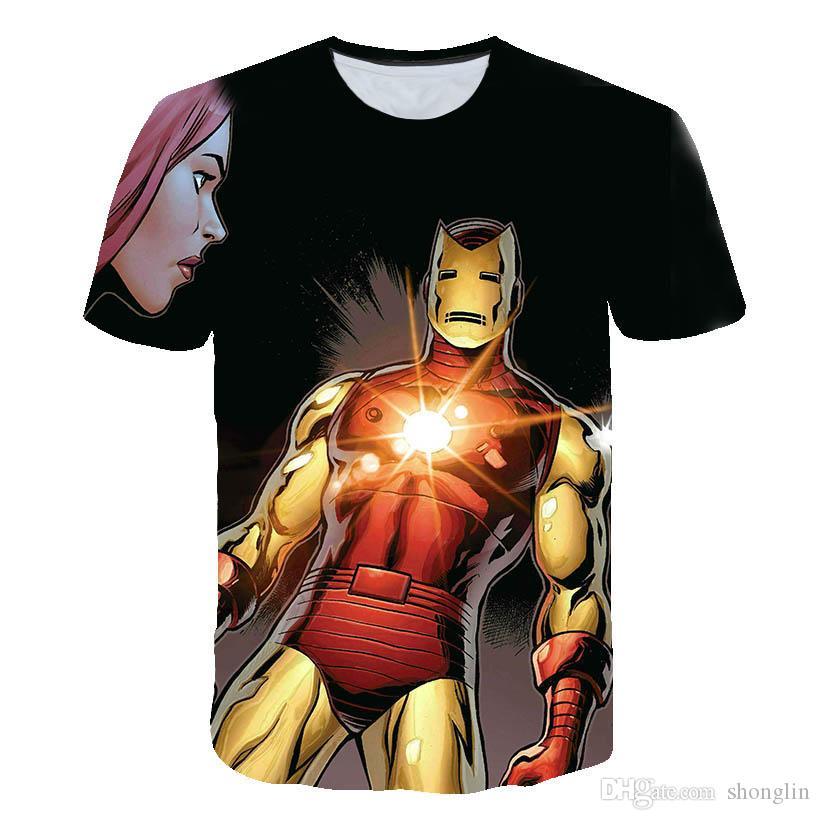 2020 hot-sale Cloon 3D Printed T Shirt Men Joker Face Male tshirt 3d Clow Short Sleek T Shirts Tumps Tees XXS-6XL # 88