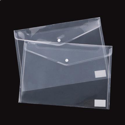 60PCS أفضل شفاف ملف بلاستيك A5 مجلدات حقيبة وثيقة حقائب عقد المجلدات إيداع ورقة مدرسة تخزين اللوازم المكتبية 111