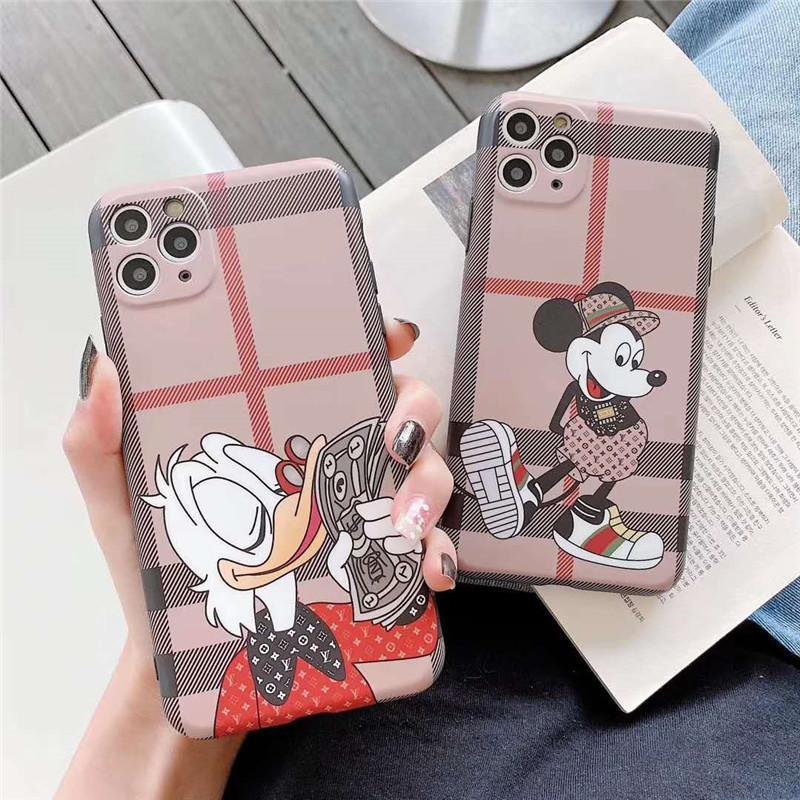 téléphone DUCK Cute Cartoon silicone mat doux pour iPhone 11 Pro Max XR XS MAX 6 7 8 plus X 11Pro couverture arrière fundas de luxe de Coque