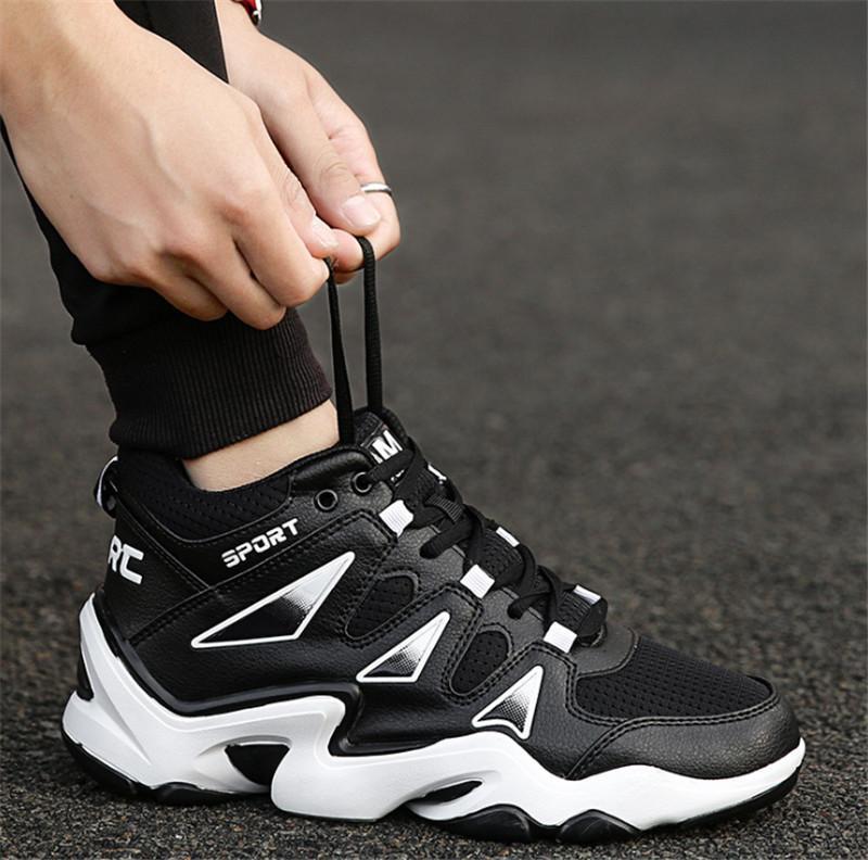 De nouvelles chaussures blanches amateurs 2019 avec les amoureux des étudiants des femmes des chaussures de marée à jet d'encre casual hommes chaussures 39-44
