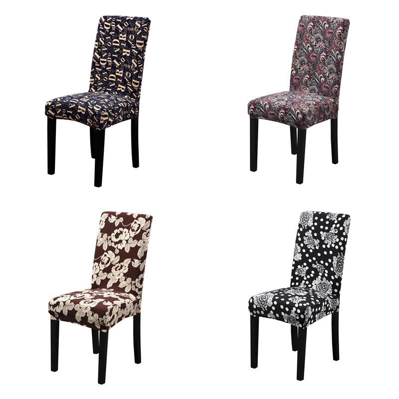 Bilgisayar / yemek / düğün / ofis Fırçalı Stretch Sandalye için Dreamworld Yeni Elastik Sandalye Kapak Spandex Klozet Kapağı Düğün Kapaklar