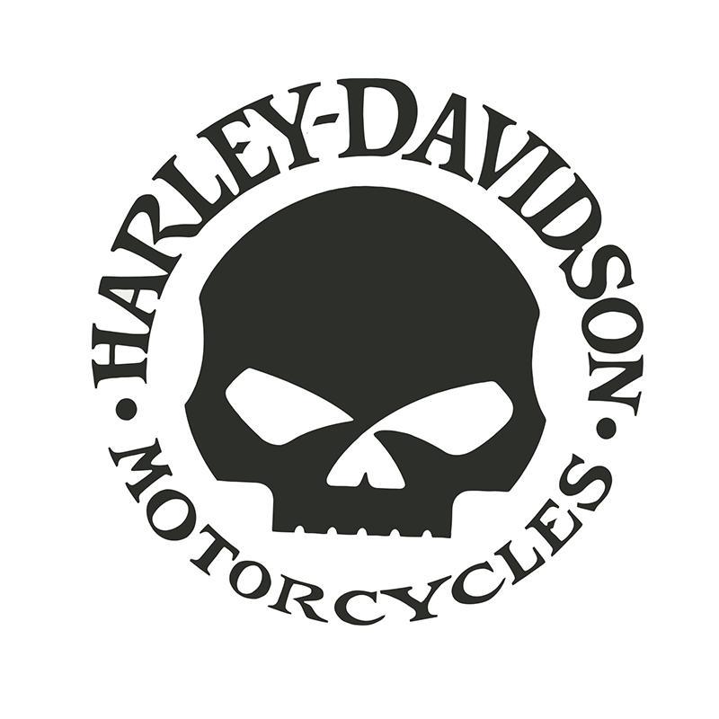 15 * 15CM 할리 데이비슨은 용감한 사람이 스타일의 자동차 sticlers에게-3018 CA를 motocycles를