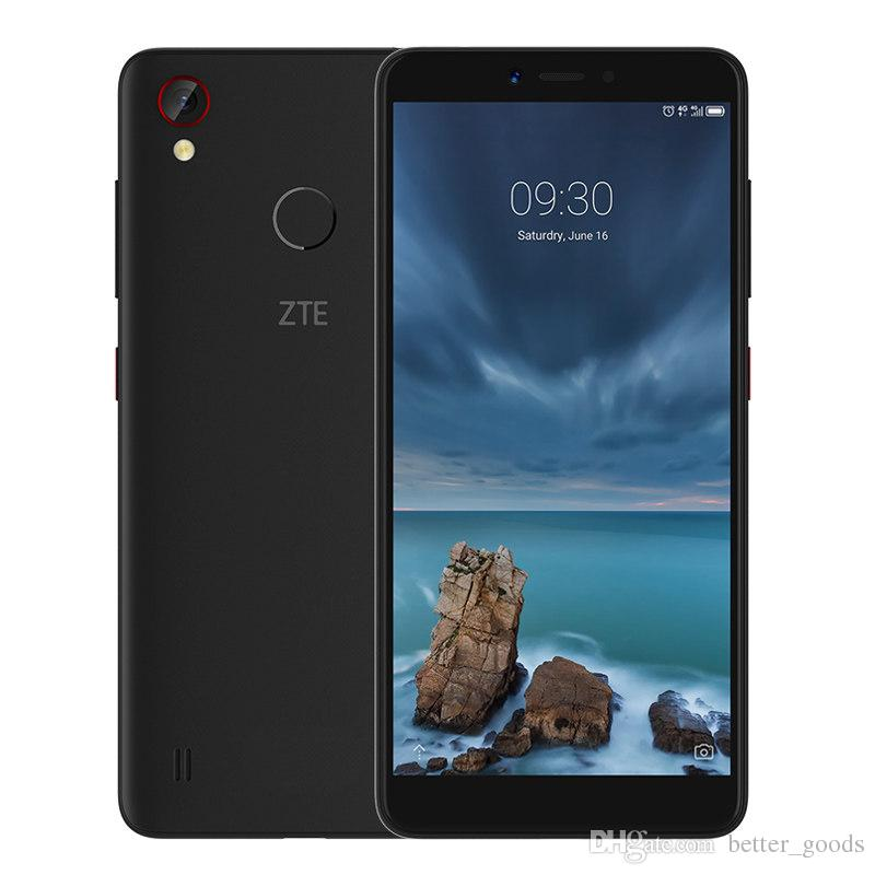 Original ZTE Blade A4 4G LTE Cell Phone 4GB RAM 64GB ROM Snapdragon 435 Octa Core Android 5.45 inch 13MP Fingerprint ID Smart Mobile Phone