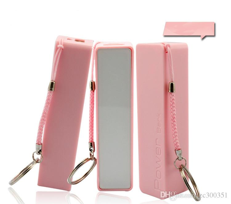 Wholesale 2600mAh Perfume Phone Power Bank Emergency External Battery Charger panel USB for iphone 7S 5 4S 4 Galaxy S3 S4