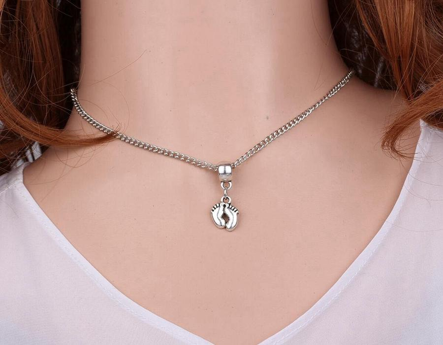 retro style Delicate high-heeled shoes alloy charms pendants