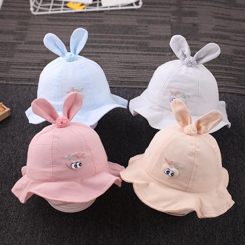 sección de la princesa delgada sombrero lindo del pescador del sombrero del sol del bebé ajustable ummer