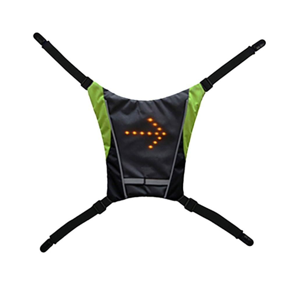 Светоотражающие безопасности Vest со светодиодом сигналы Светоотражающие жилет безопасности со светодиодными сигналами
