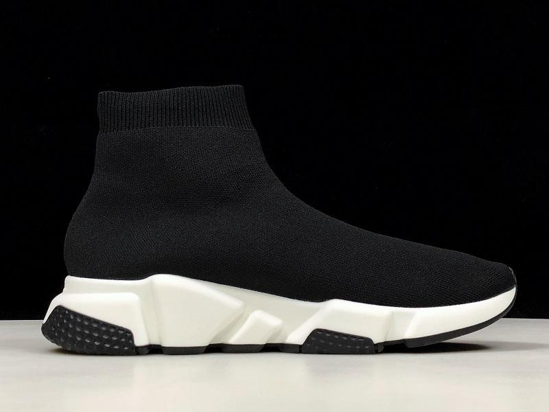 Nuevo calcetín del zapato de los corredores de carreras Speed Trainer transpirable zapatillas Speed Trainer calcetín negro calza a hombres y mujeres Calzado deportivo 36-45