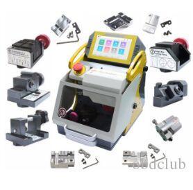 DHL Yeni Sec E9 12 Kelepçeleri CNC Otomatik Anahtar Kesme Makinesi Araba Tuşları için Ev Tuşları Slica I80 Anahtar Makinesinden Daha İyi